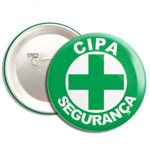 Boton CIPA Segurança 2,5cm