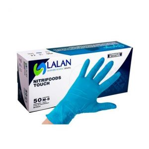 Luva Nitrifoods Touch Com 50 Unidades – LALAN C.A. 39569