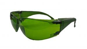 Óculos De Segurança Modelo Leopardo Verde / Incolor / Amarelo / Cinza