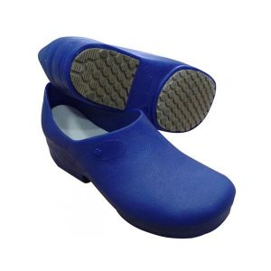 Sapato Feminino Antiderrapante Azul Sticky Shoes C.A. 27891